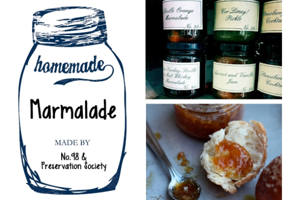 Marmalade week : No.98 and Preservation Society